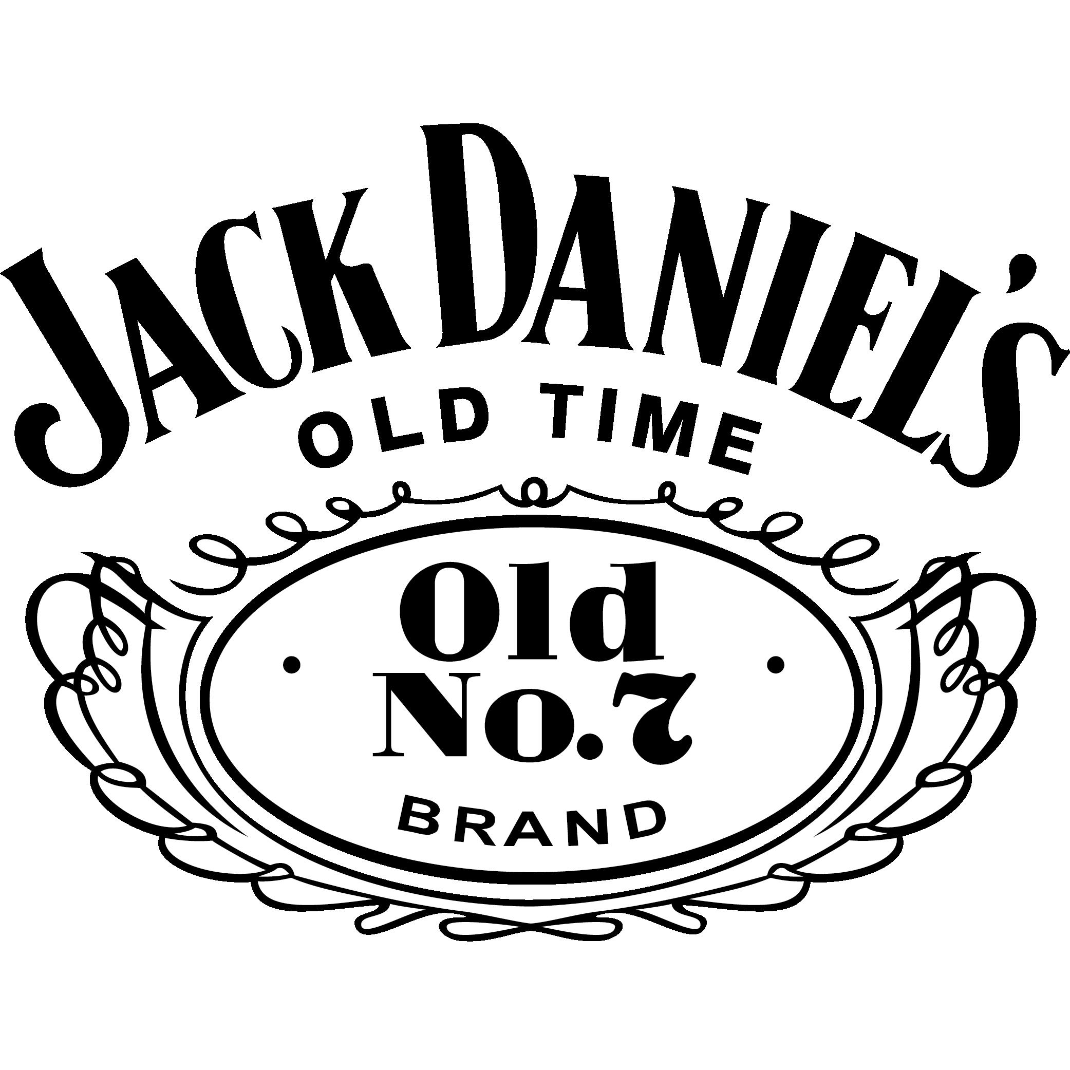 Partners, Sponsors & Patrons - Necker Cup Jack Daniels Logo Stencil