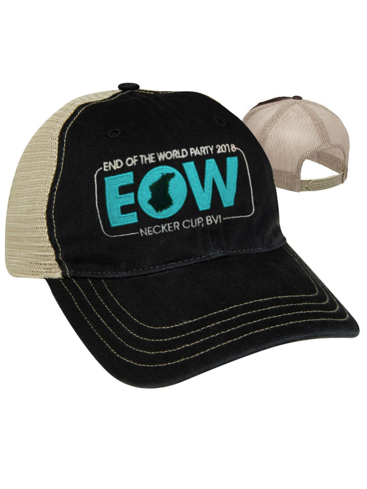 End of the World Party (EOW) Trucker Cap