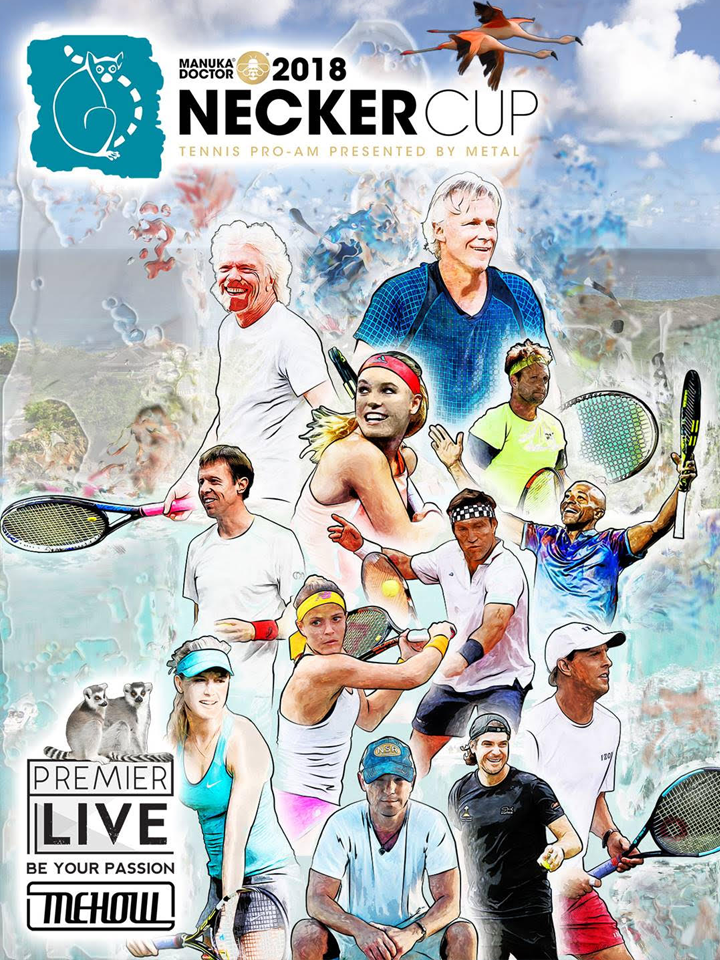 2018 Necker Cup Charity Poster